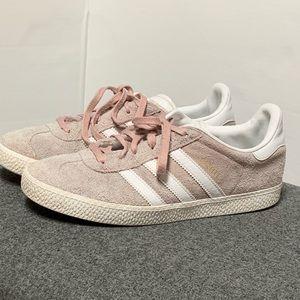 Adidas Gazelle Pink Suede Sneaker 6.5 8.5